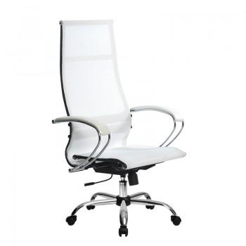 Кресло Samurai Ultra SK-1-BK 7 CH белый, сетка - оптово-розничная продажа