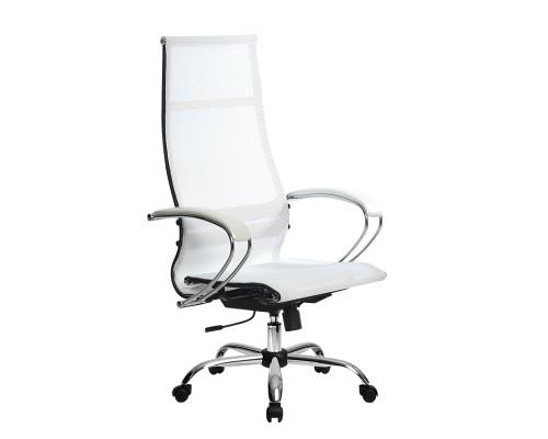Кресло Samurai Ultra SK-1-BK 7 CH белый, сетка