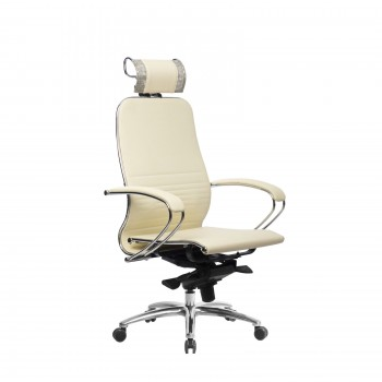 Кресло Samurai K-2.04 кожа, бежевый - оптово-розничная продажа