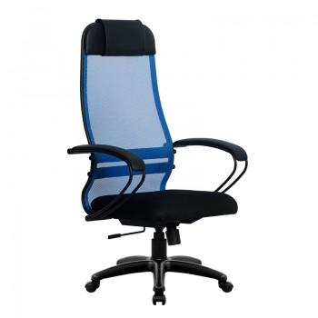 Кресло Samurai Ultra SU-1-BP 11 синий, сетка/ткань, крестовина пластик Pl - оптово-розничная продажа