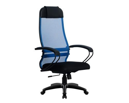 Кресло Samurai Ultra SU-1-BP 11 синий, сетка/ткань, крестовина пластик Pl