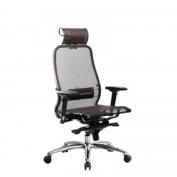 Кресло Samurai S-3.04 сетка, коричневый - оптово-розничная продажа