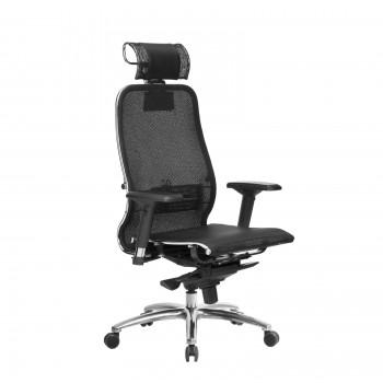 Кресло Samurai S-3.04 сетка, черный ПЛЮС - оптово-розничная продажа
