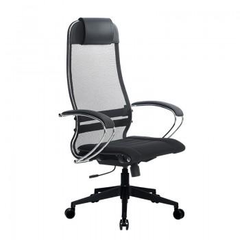 Кресло Samurai Ultra SU-1-BK 3 PL-2 черный, ткань/сетка - оптово-розничная продажа