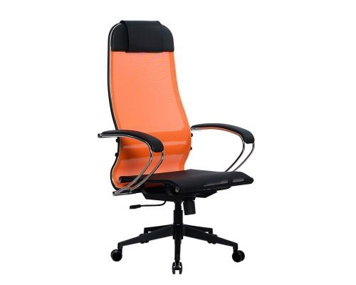 Кресло Samurai Ultra SU-1-BK 4 PL-2 оранжевый, сетка