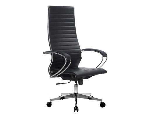 Кресло Samurai Ultra SK-1-BK 8 CH-2 черный, кожа NewLeather