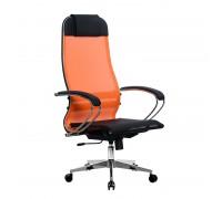 Кресло Samurai Ultra SU-1-BK 4 CH-2 оранжевый, сетка
