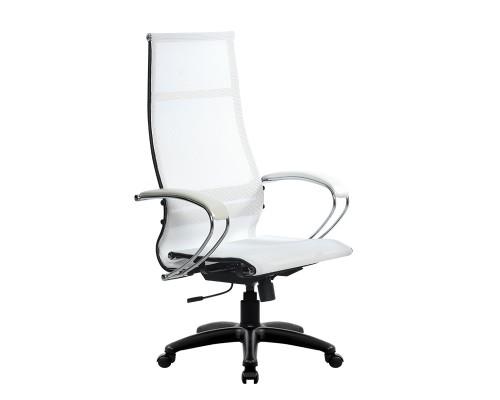 Кресло Samurai Ultra SK-1-BK 7 PL белый, сетка
