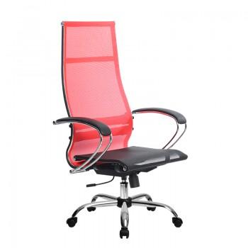 Кресло Samurai Ultra SK-1-BK 7 CH красный, сетка - оптово-розничная продажа