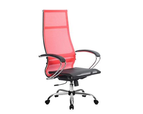 Кресло Samurai Ultra SK-1-BK 7 CH красный, сетка