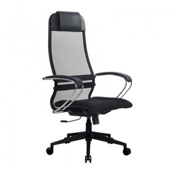 Кресло Samurai Ultra SU-1-BK 1 PL-2 черный, ткань/сетка - оптово-розничная продажа