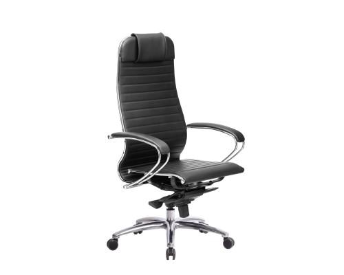 Кресло Samurai K-1.04 кожа, черный