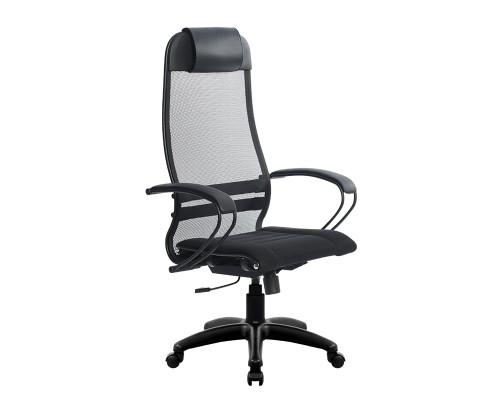 Кресло Samurai Ultra SU-1-BP 0 черный, сетка/ткань, крестовина пластик Pl