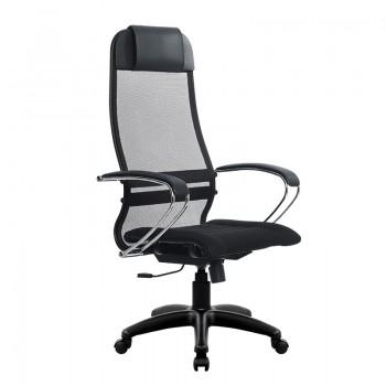 Кресло Samurai Ultra SU-1-BK 1 PL черный, ткань/сетка - оптово-розничная продажа