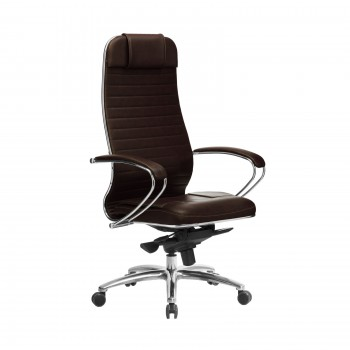 Кресло Samurai KL-1.04 кожа, темно-коричневый - оптово-розничная продажа