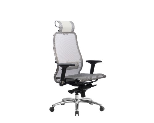 Кресло Samurai S-3.04 сетка, белый лебедь