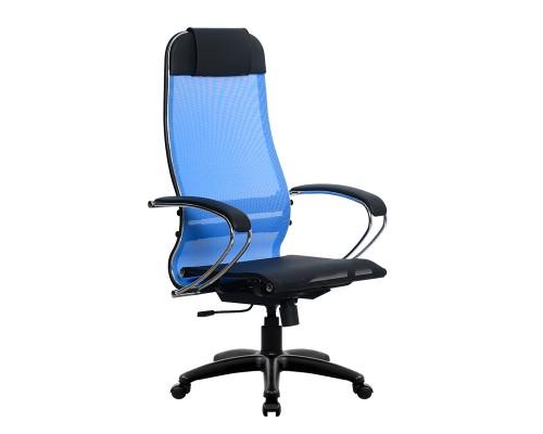 Кресло Samurai Ultra SU-1-BK 4 PL синий, сетка