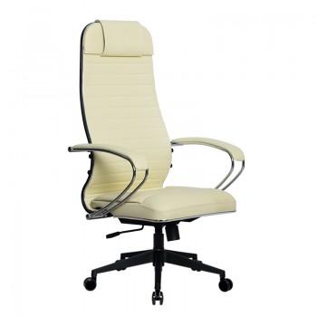 Кресло Samurai Ultra SU-1-BK 6 PL-2 бежевый, кожа NewLeather - оптово-розничная продажа