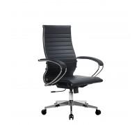 Кресло Samurai Ultra SK-2-BK 10 CH-2 черный, кожа NewLeather