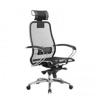 Кресло Samurai S-2.04 сетка, черный - оптово-розничная продажа