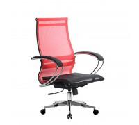 Кресло Samurai Ultra SK-2-BK 9 CH-2 красный, сетка