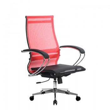 Кресло Samurai Ultra SK-2-BK 9 CH-2 красный, сетка - оптово-розничная продажа