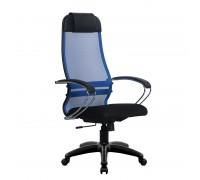Кресло Samurai Ultra SU-1-BK 18 синий, сетка/ткань, крестовина пластик Pl