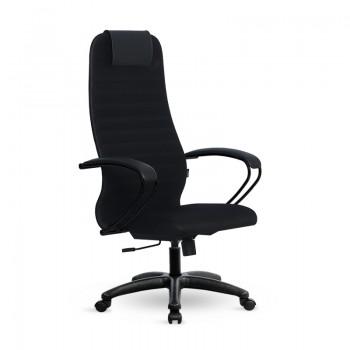 Кресло Samurai Slim S-BP 10 черный, сетка/ткань, крестовина пластик Pl - оптово-розничная продажа
