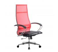Кресло Samurai Ultra SK-1-BK 7 CH-2 красный, сетка