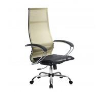 Кресло Samurai Ultra SK-1-BK 7 CH золотистый, сетка