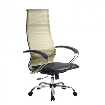 Кресло Samurai Ultra SK-1-BK 7 CH золотистый, сетка - оптово-розничная продажа