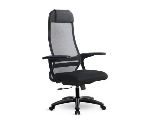 Кресло Samurai Ultra SU-1-BP 13 ткань/сетка, крестовина пластик Pl