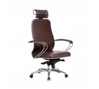 Кресло Samurai KL-2.04 кожа, темно-коричневый