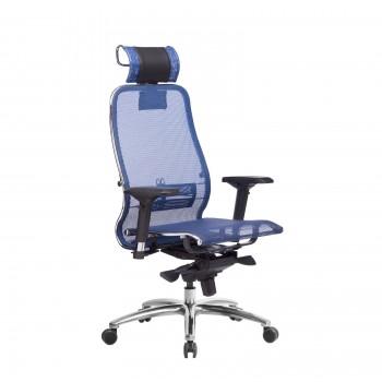 Кресло Samurai S-3.04 сетка, синий - оптово-розничная продажа