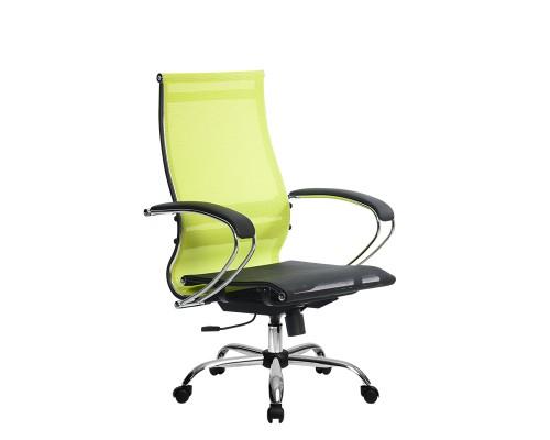 Кресло Samurai Ultra SK-2-BK 9 CH желтый, сетка