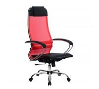 Кресло Samurai Ultra SU-1-BK 4 CH красный, сетка