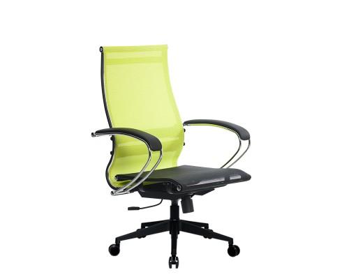 Кресло Samurai Ultra SK-2-BK 9 PL-2 желтый, сетка