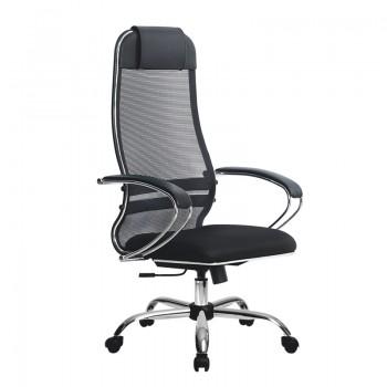 Кресло Samurai Ultra SU-1-BK 15 CH черный, ткань/сетка - оптово-розничная продажа