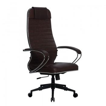 Кресло Samurai Ultra SU-1-BK 6 PL-2 коричневый, кожа NewLeather - оптово-розничная продажа