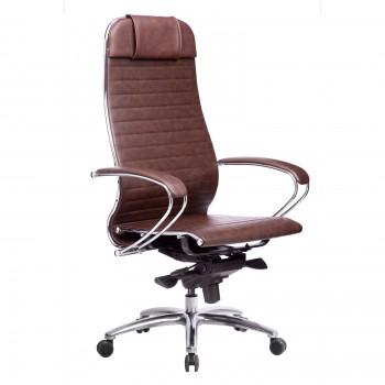 Кресло Samurai K-1.04 кожа, коричневый - оптово-розничная продажа