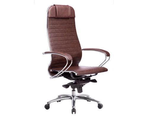 Кресло Samurai K-1.04 кожа, коричневый