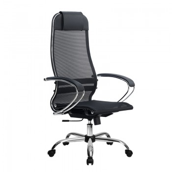 Кресло Samurai Ultra SU-1-BK 12 CH черный, сетка - оптово-розничная продажа