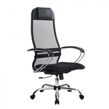 Кресло Samurai Ultra SU-1-BK 1 CH черный, ткань/сетка - оптово-розничная продажа
