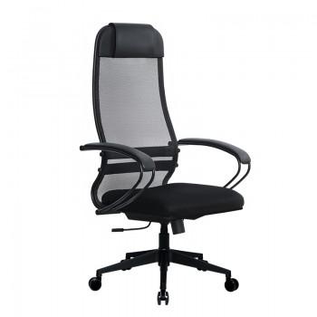 Кресло Samurai Ultra SU-1-BP 11 черный, сетка/ткань, крестовина пластик Pl-2 - оптово-розничная продажа