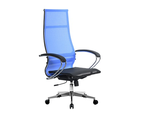 Кресло Samurai Ultra SK-1-BK 7 CH-2 синий, сетка