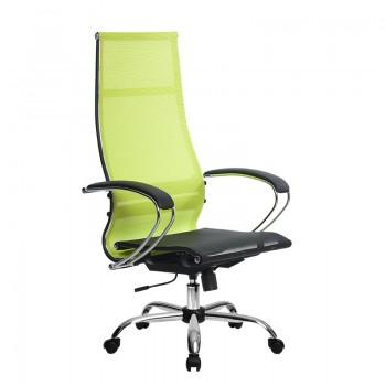 Кресло Samurai Ultra SK-1-BK 7 CH желтый, сетка - оптово-розничная продажа