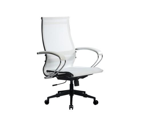 Кресло Samurai Ultra SK-2-BK 9 PL-2 белый, сетка