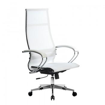 Кресло Samurai Ultra SK-1-BK 7 CH-2 белый, сетка - оптово-розничная продажа