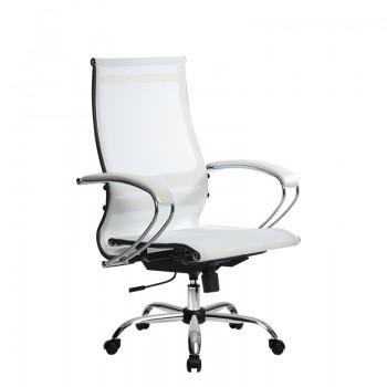 Кресло Samurai Ultra SK-2-BK 9 CH белый, сетка - оптово-розничная продажа