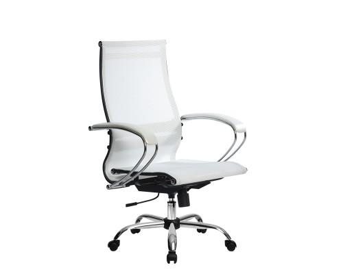 Кресло Samurai Ultra SK-2-BK 9 CH белый, сетка